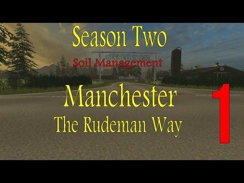 Farming Simulator 2015 Manchester Season 2 Soil Management Ep 1