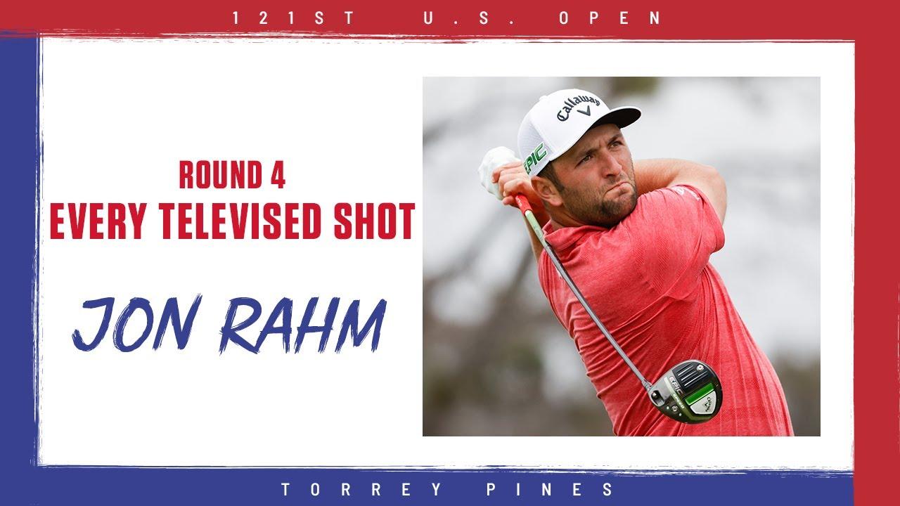 Highlights Jon Rahm S Final Round Every Televised Shot 2021 U S Open Youtube
