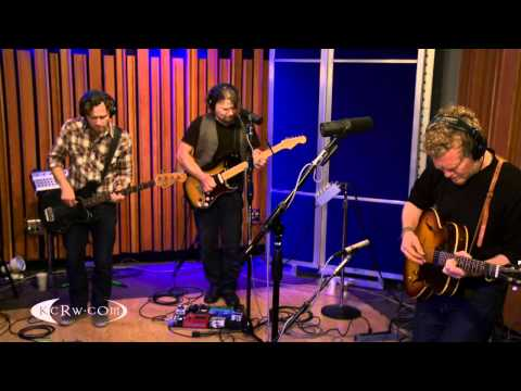 """Glen Hansard performing """"Talking With The Wolves"""" on KCRW"""
