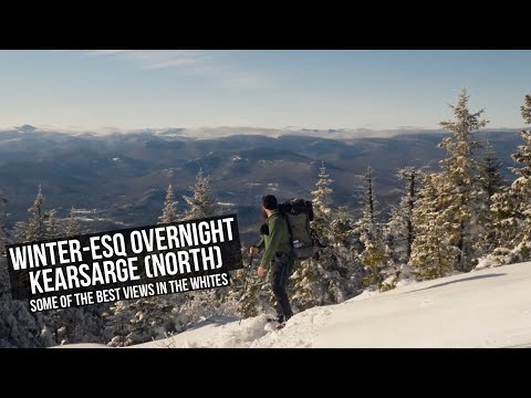 Winter-esq Overnight | Kearsarge North | Some Of The Best View In The Whites