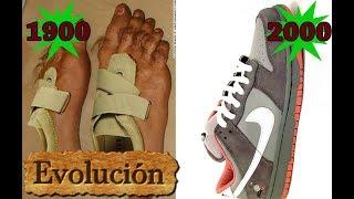 Cómo cambiaron las zapatillas durante 150 años.