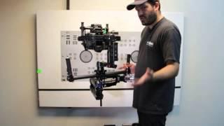 DJI Ronin - CineMilled Steadicam Armpost Adaptor Tutorial - Steadicam and Segway