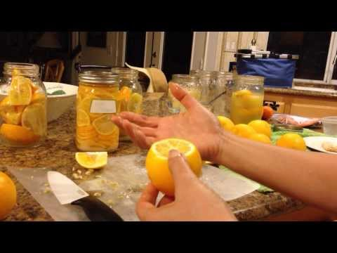 Preserving Lemons - Quick and Easy!
