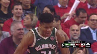 1st Quarter, One Box Video: Toronto Raptors vs. Milwaukee Bucks