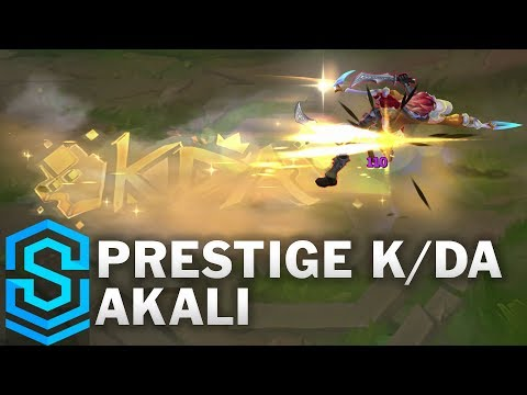 Prestige K/DA Akali Skin Spotlight - League of Legends