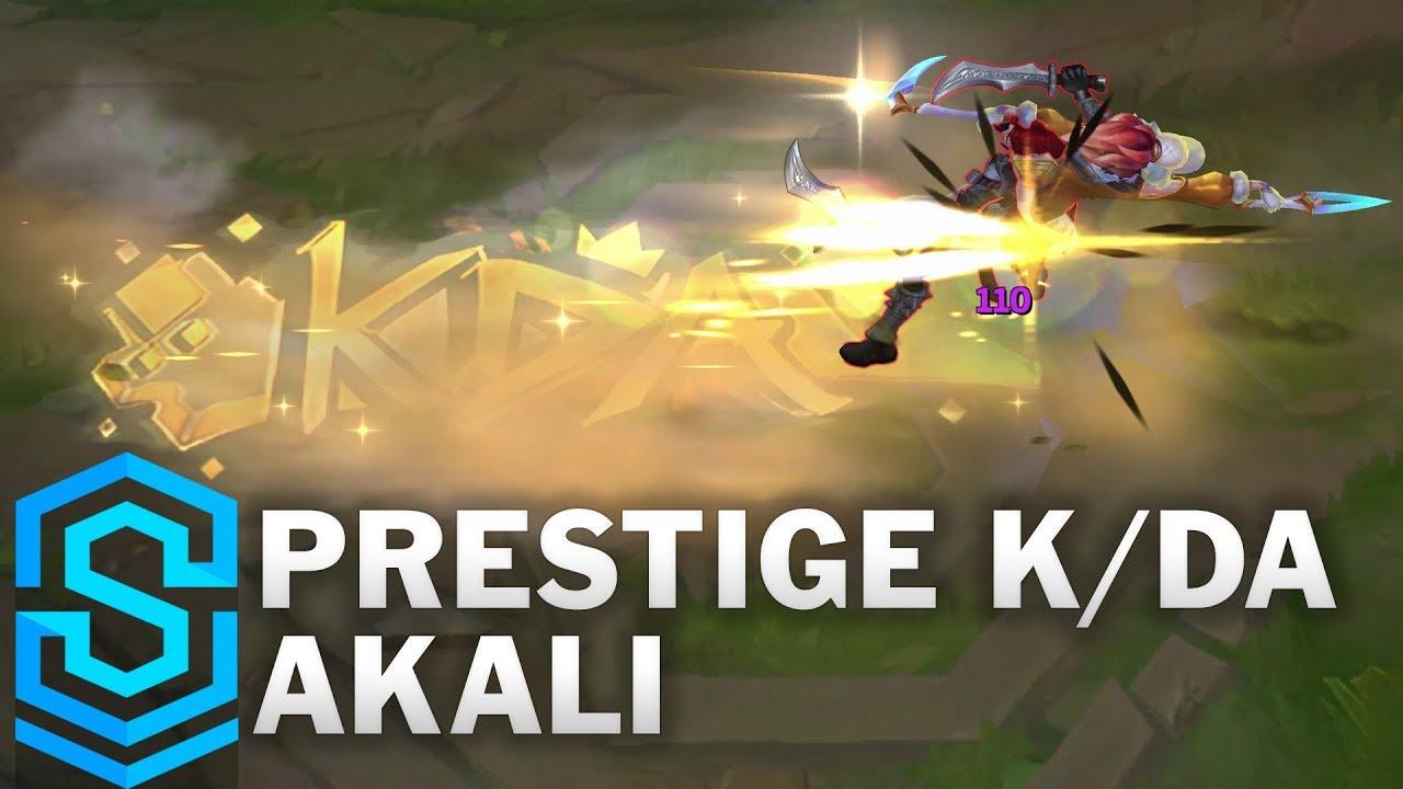 Prestige K Da Akali Skin Spotlight League Of Legends Youtube