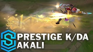 Prestige K/DA Akali Skin Spotlight - League of Legends