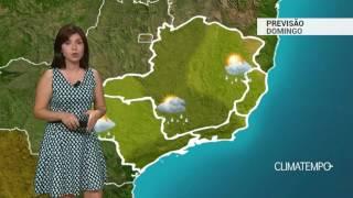 Previsão Sudeste – Temporais em MG e RJ