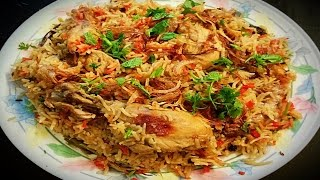 chicken pulao at home