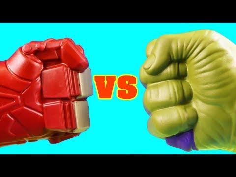 Hulk Family Vs. Hulkbuster Family ! Mega Battle ! Superhero Toys