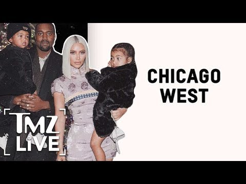 Kim And Kanye Welcome Chicago West To The World! | TMZ Live
