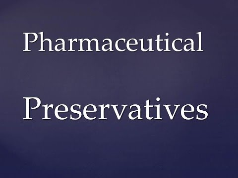Preservatives for pharmaceutical dosage forms