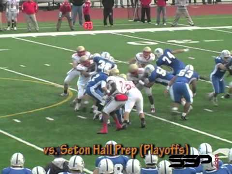 James Horan, Bergen Catholic H.S., - DT/OL, Oradell NJ 2010 Football Highlights -Junior Year