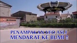 """VIDEO PENAMPAKAN UFO ASLI """"MENDARAT DI BUMI"""" PENAMPAKAN UFO PALING NYATA DI DUNIA !!"""