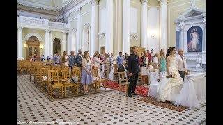 Венчание в Католическом Храме Базилика св. Екатерины Александрийской