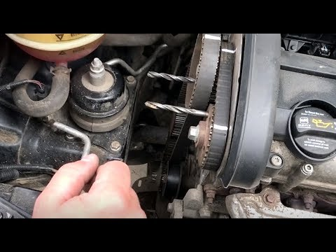 Seat Ibiza 1.4 замена ремня ГРМ