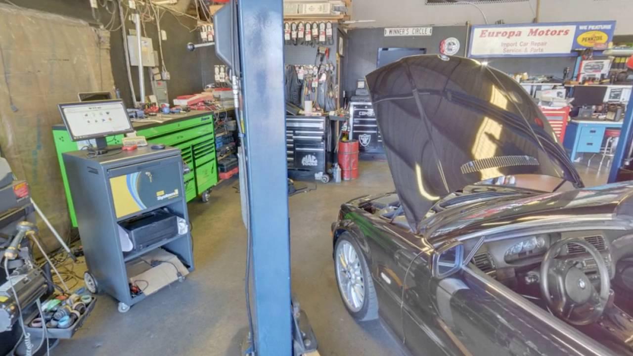 Europa Motors Modesto Ca Auto Repair Service