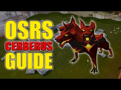 OSRS Cerberus Guide w/ 100 Kills Loot (Easy OSRS Boss Series Episode 3)
