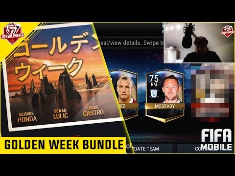 FIFA MOBILE GOLDEN WEEK BUNDLE PACK OPENING 90 PULL #FIFAMOBILE GOLDEN WEEK SHOWSTOPPER PROGRAM INFO