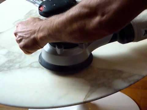 polissage marbre verni knoll