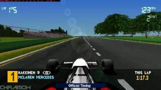 Formula 1 97 Gameplay ( PC HD )