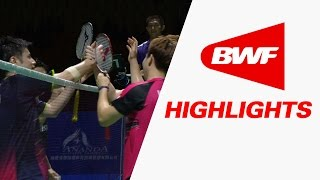 Thaihot China Open 2015 | Badminton SF – Highlights