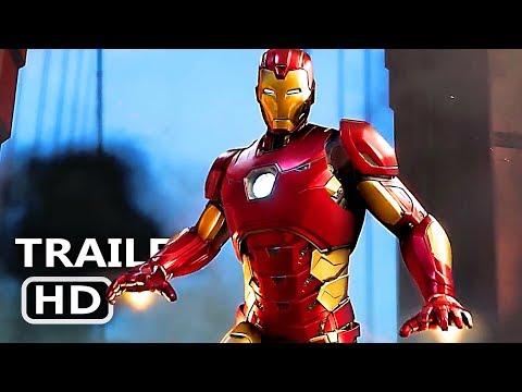 Play AVENGERS Official Trailer (E3 2019) Marvel's Avengers Video Game HD
