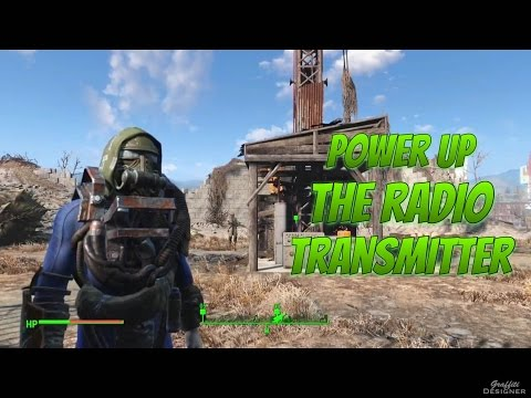 Fallout 4: Taking Independence, Power Up The Radio Transmitter