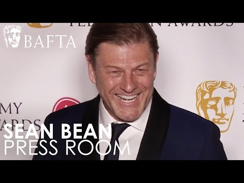 Sean Bean Speaks to the Press Following His BAFTA Win  BAFTA TV Awards 2018