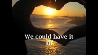 We Could Have It All by Maureen McGovern-videoke