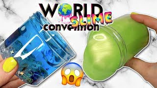 World Slime Convention SLIME HAUL! All Of The Slimes I Got!