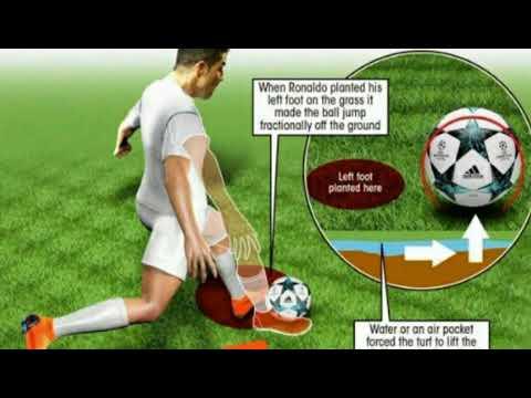Bukan Sulap Bukan Sihir, Inilah Rahasia Bola Naik Misterius Penalti Ronaldo