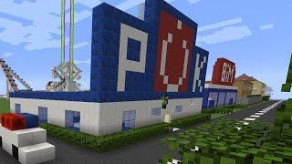 Polis Karakolu ve İtfaiye Yapıyoruz - Minecraft Modern Evler