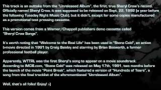 """Sheryl Crow - """"Welcome to the Real Life"""" (outtake from the """"Unreleased Album"""", 1992)"""