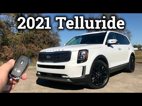 2021 Kia Telluride Review & Drive With a Few Updates!