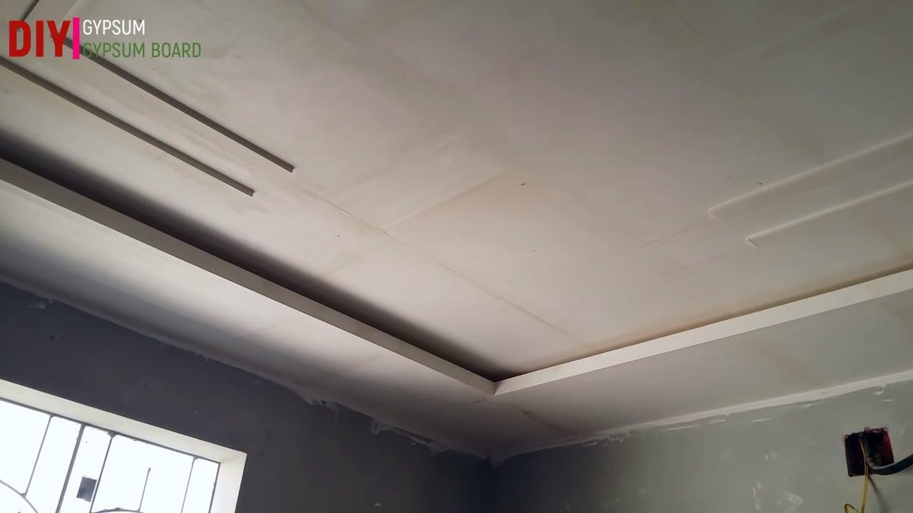 Diy false ceiling installation tutorial - YouTube