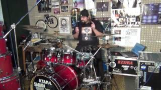 Chinaski -Každý ráno drum cover