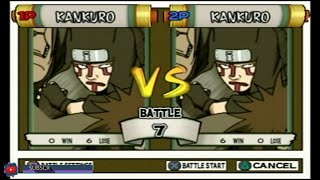 """Best Bout Replays"" Naruto UN3 - cymande vs HAGAISHI #5"