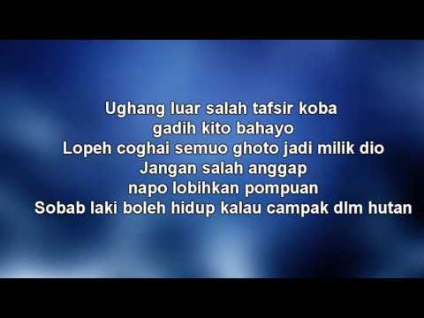 W A R I S Ft Dato Hattan - Gadis Jolobu Lyrics Video