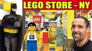 Turismo NERD em Nova York: LEGO STORE