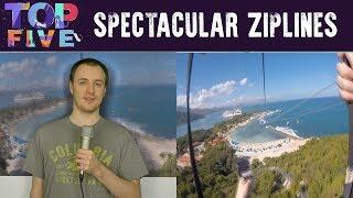 Top 5 Spectacular Ziplines