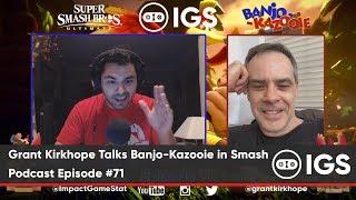 Grant Kirkhope Talks Banjo-Kazooie in Smash | Podcast Episode #71