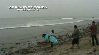Adriano De Souza - Trestles World Tour Of Surfing 2011 - Round 3 Heat 2