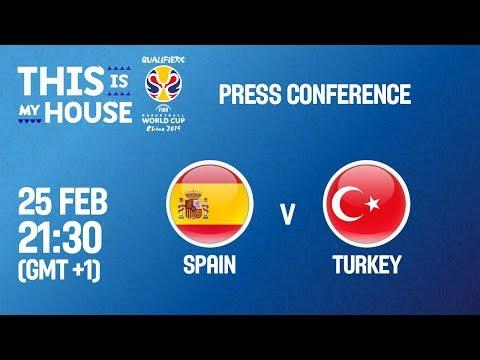 Spain v Turkey - Press Conference