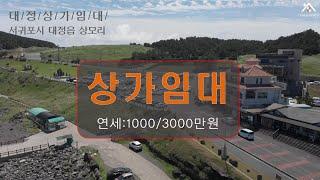 서귀포 대정/송악관광단지 상가임대