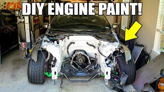homepage tile video photo for DIY PAINTING YOUR ENGINE BAY! LS350Z