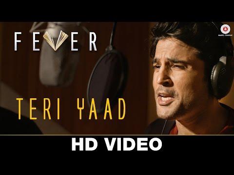 Teri Yaad (Unplugged) - Fever | Rajeev Khandelwal & Gauahar Khan | Rahul Jain