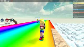 roblox rainbow slide played good cruises (read description) #roblox