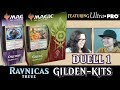 Duell 1 Gilden-Kits Orzhov VS Gruul Ravnicas Treue Magic the Gathering deutsch traderonlinevideo