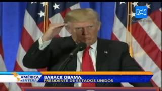 Estas son las diferencias entre Barack Obama y el presidente electo de Estados Unidos, Donald Trump